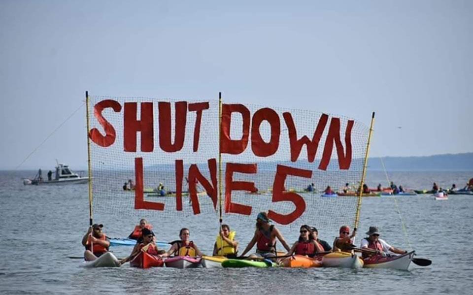 Enbridge pipeline: Indigenous groups join Gov. Whitmer in demanding shutdown