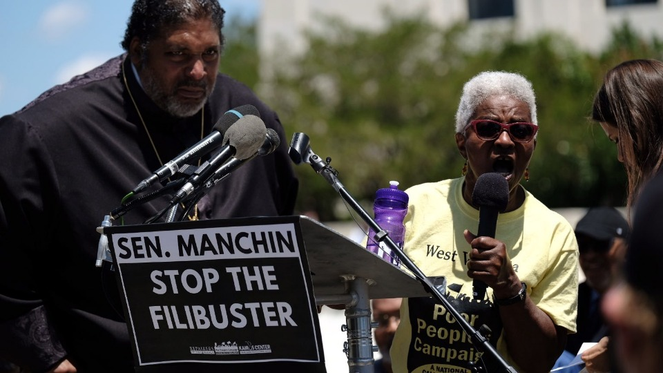 Mass march in D.C. demands full, unobstructed voting rights