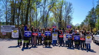Solidarity going strong for striking Alabama mine workers