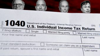 Leaked IRS documents confirm: The rich don't pay taxes