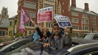 Yale workers and community join in common struggles