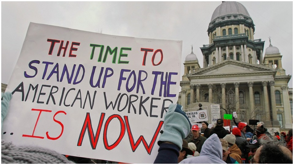Illinois voters to decide on worker rights constitutional amendment