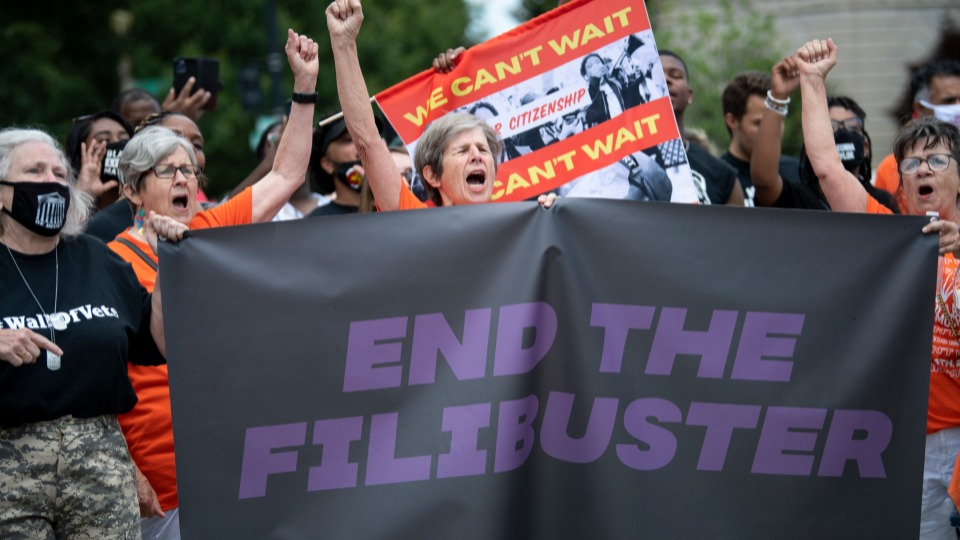 Filibuster or democracy: Can't have both