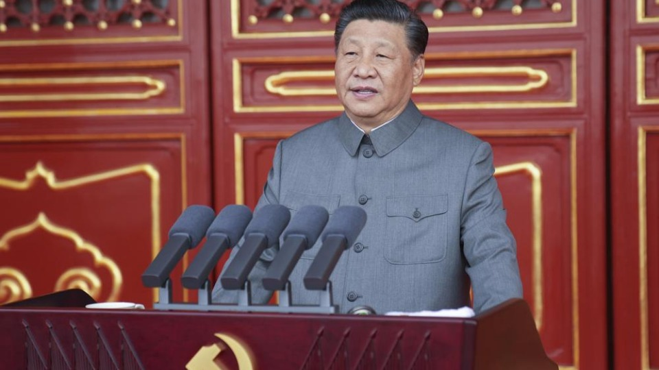 Xi Jinping warns against foreign aggression in Communist Party centenary speech
