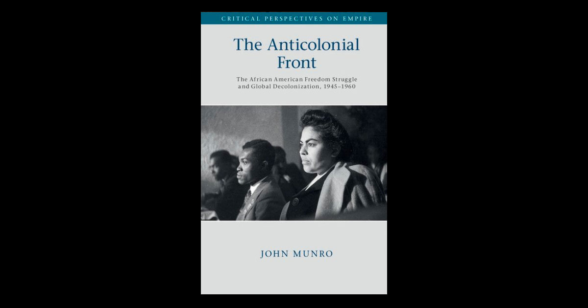 Links between domestic civil rights and anti-colonial struggles explored in new book