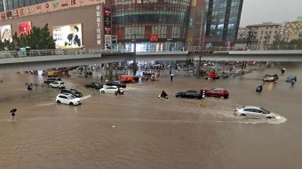 Devastating flooding in China leaves 25 dead as nearly a year of rain falls in 3 days