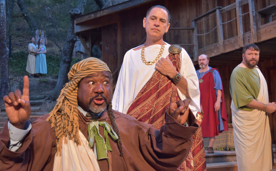 On the Topanga Trail of the Assassins: 'Caesar' on stage in L.A.
