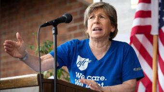 Teachers union leaders backing mandatory anti-virus vaccinations