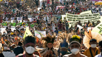 Indigenous Brazilians converge on Supreme Court ahead of crucial land rights case