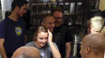 Colectivo coffee shop baristas go union with IBEW