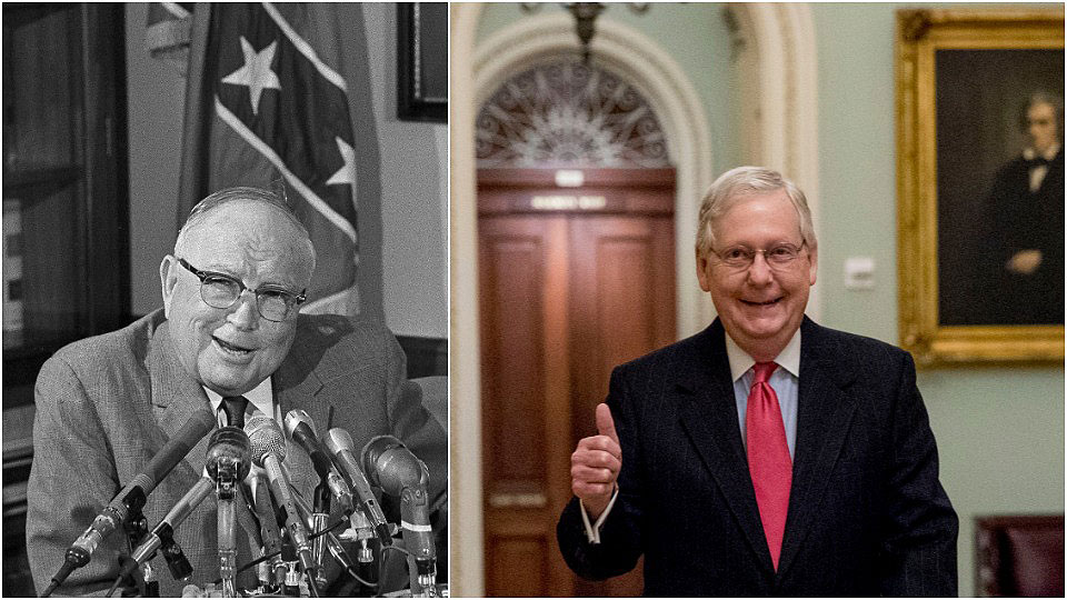 Old-time white supremacists would love McConnell's arguments against voting rights