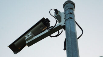 Speed enforcement cameras further police control