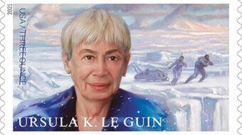 New U.S. stamp honors principled sci-fi and fantasy writer Ursula Le Guin