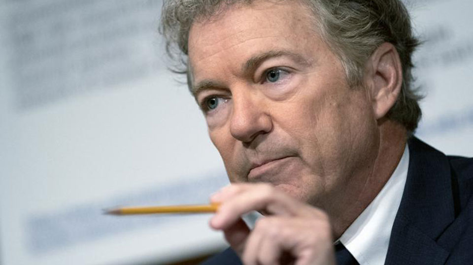 Rand Paul spreads COVID lies, risking lives in low-vaccination rate Kentucky