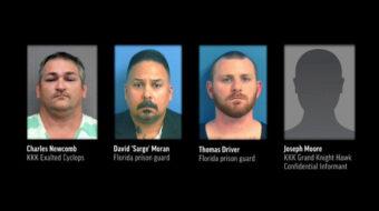 KKK murder plot involving Florida prison guards exposed