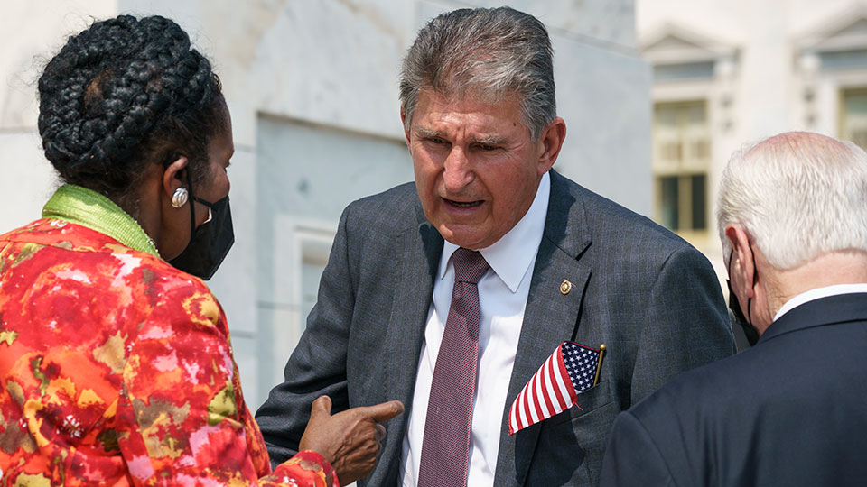 Manchin claim that we can't afford $3.5 trillion holds no water