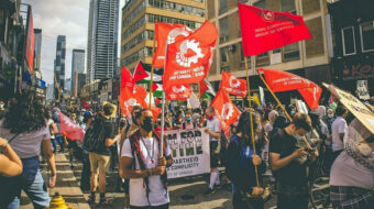 Communists plan post-election fightback as Canadians head to the polls