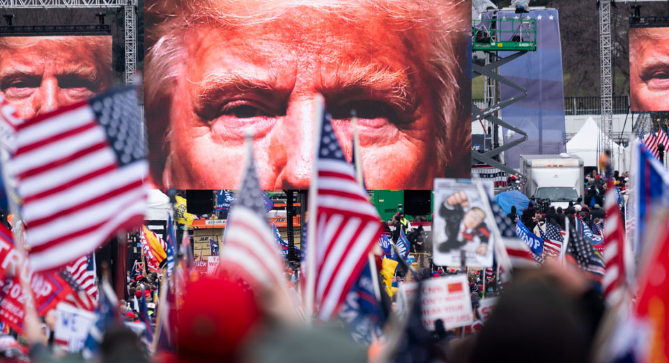 Republicans re-write Trump coup history, declare rioters 'political prisoners'