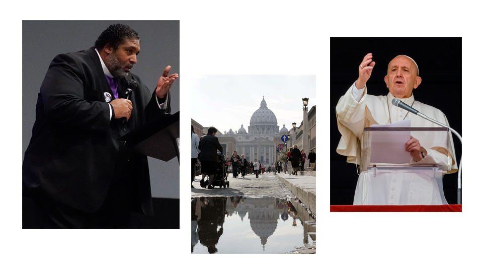 Vatican conference: Bishop Barber says capitalism has failed, new politics needed