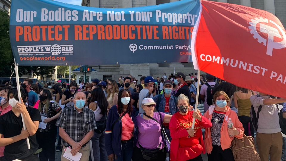 Mass marches nationwide support reproductive choice, blast Texas and GOP