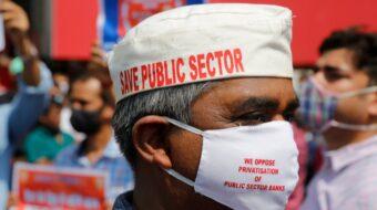 Sindicatos indios se unen en contra de las políticas antiobreras del gobierno
