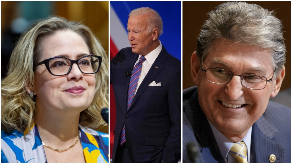 Biden agenda squeezed as corporate Democrats strip down Build Back Better