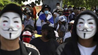 Thousands march in El Salvador demanding resignation of President Nayib Bukele
