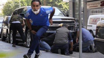Christian fascist militia accused of murdering six peaceful protesters in Lebanon