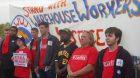 Walmart warehouse workers win strike, full back pay